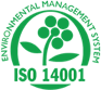 ISO 14001 Certification Seal Image